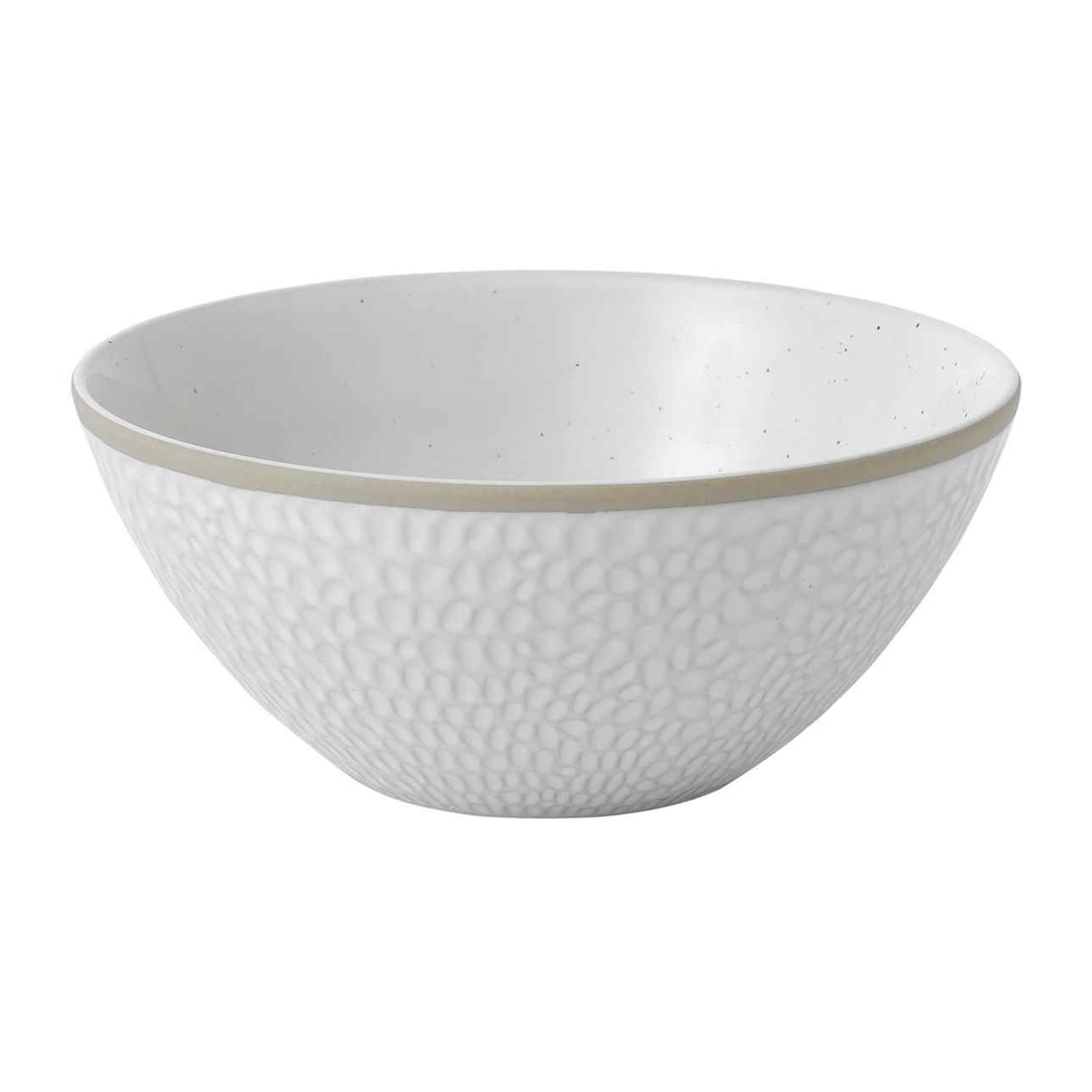 Maze Grill Hammer White Cereal Bowl