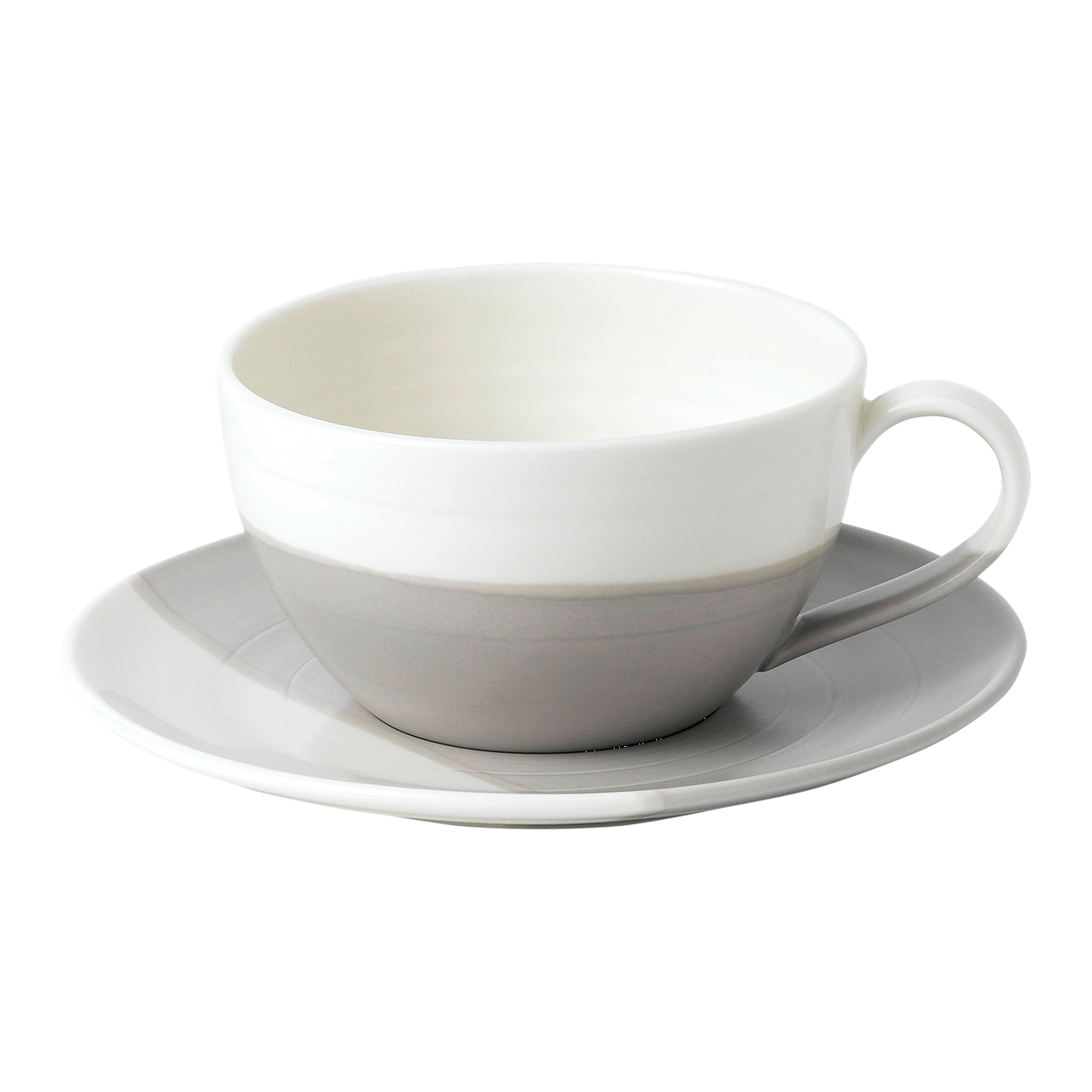 Coffee Studio Latte Cup and Saucer