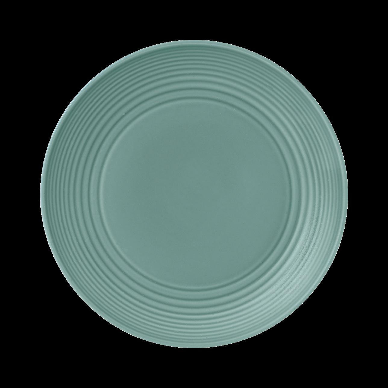 Maze Teal Side Plate