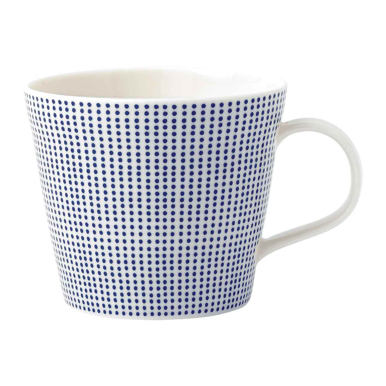 Pacific Blue Dots Mug