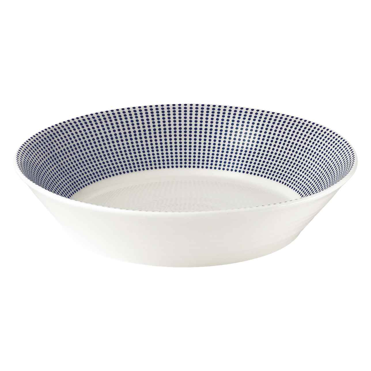 Pacific Blue Dots Pasta Bowl