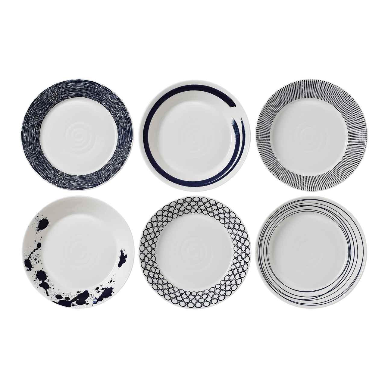 Pacific Blue Pasta Bowl (Set of 6)