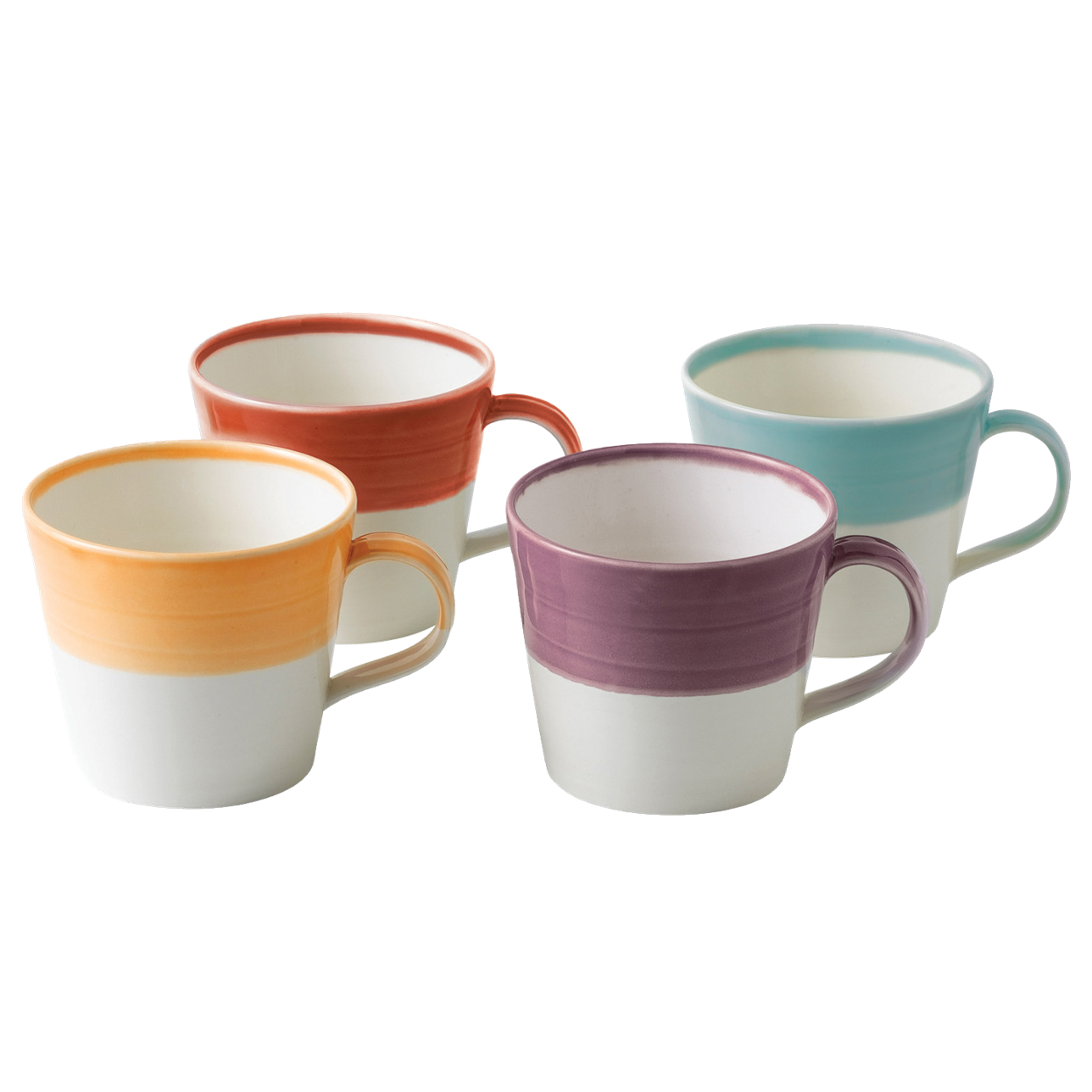 1815 Bright Colours Mugs (Set of 4)
