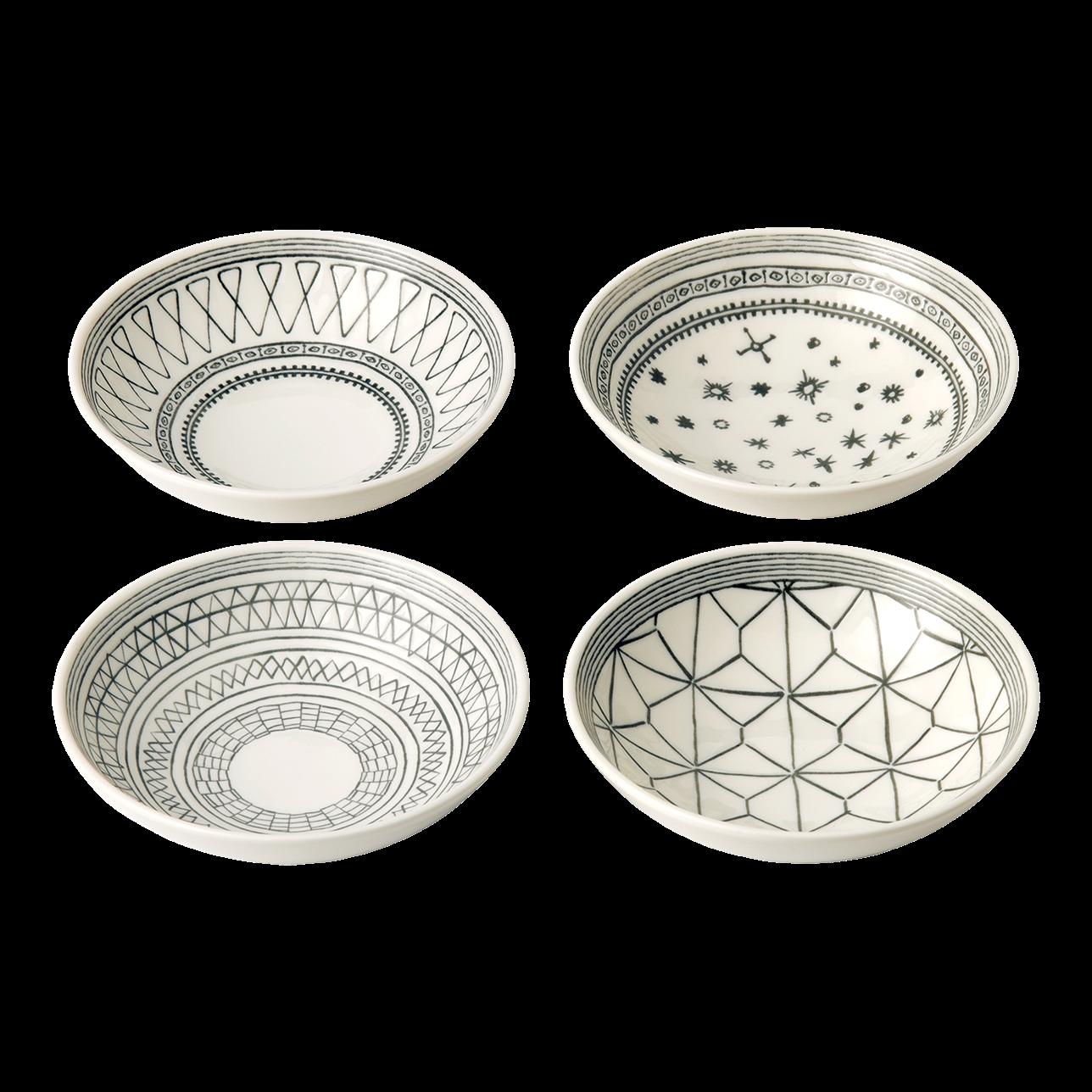 ED Charcoal Grey Small Bowls (Set of 4)