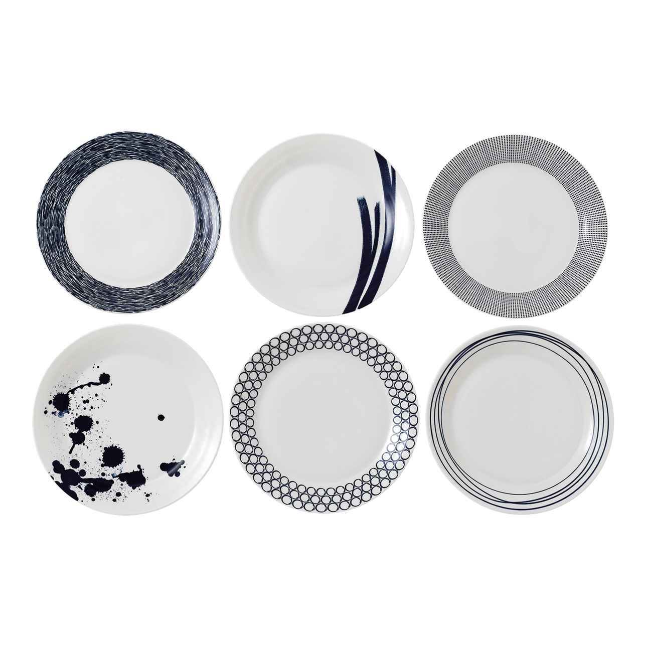 Pacific Blue Dinner Plates (Set of 6)