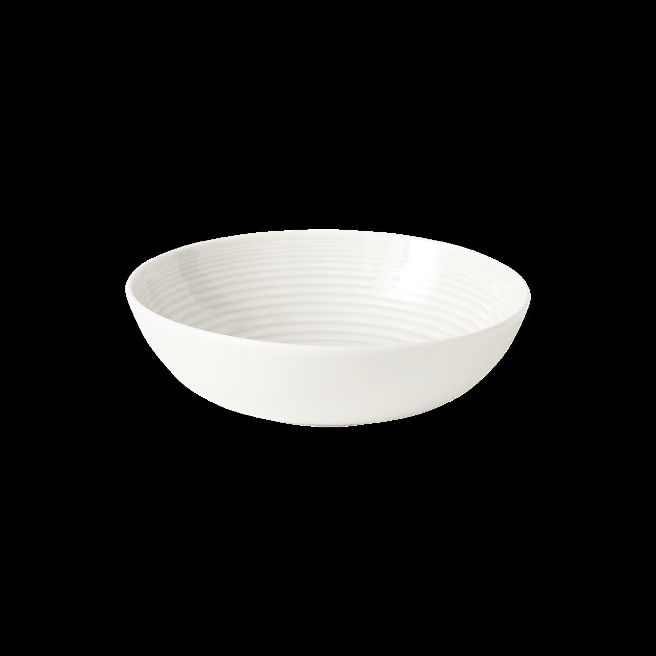 Maze White Cereal Bowl