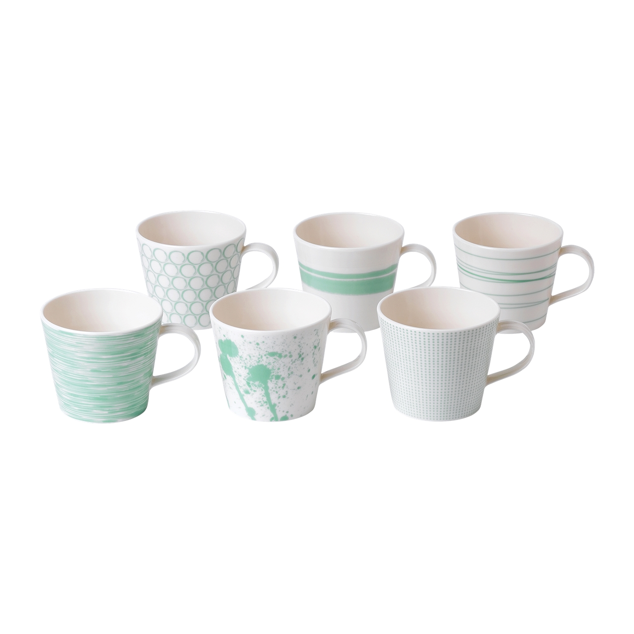 Pacific Mint Mugs 390ml (Set of 6)