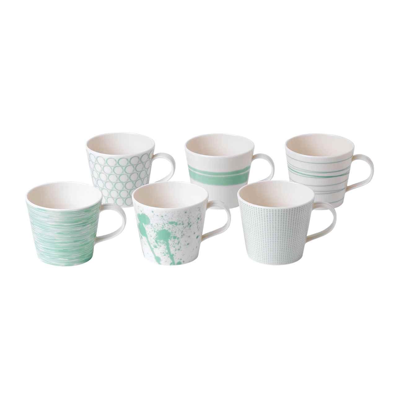 Pacific Mint Mugs 390ml (Set of 6)