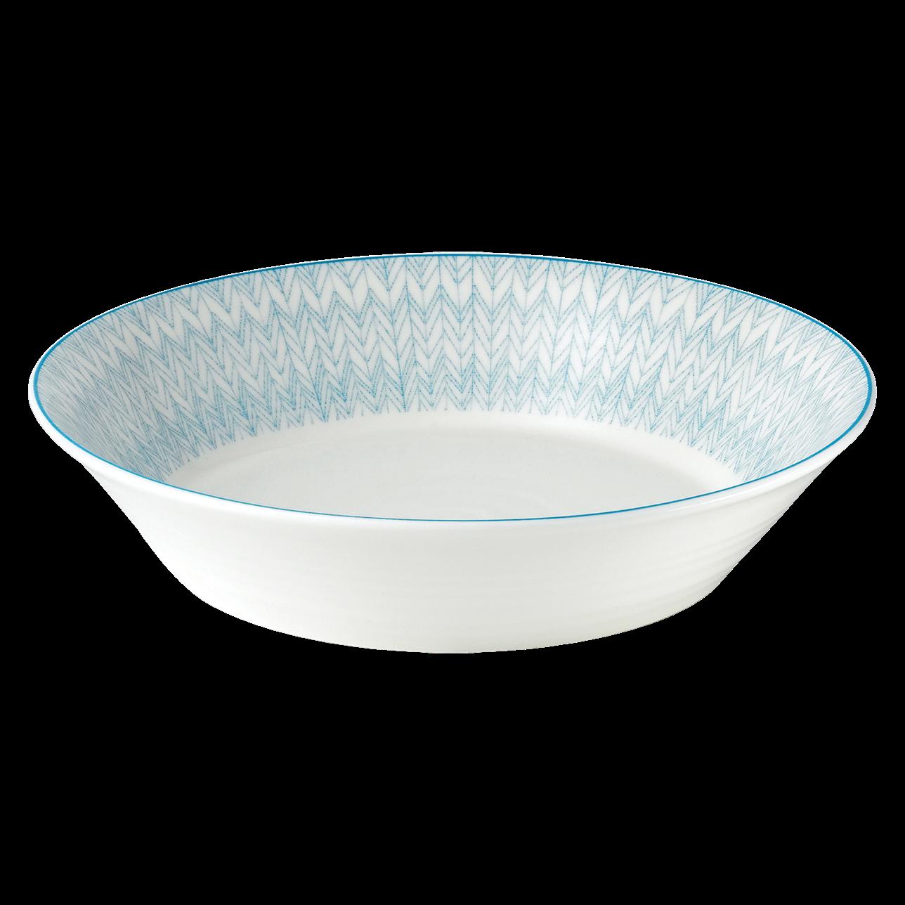 Pastels Herringbone Pasta Bowl