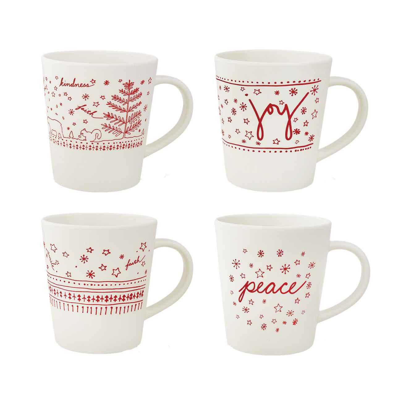 ED Holiday Mugs (Set of 4)