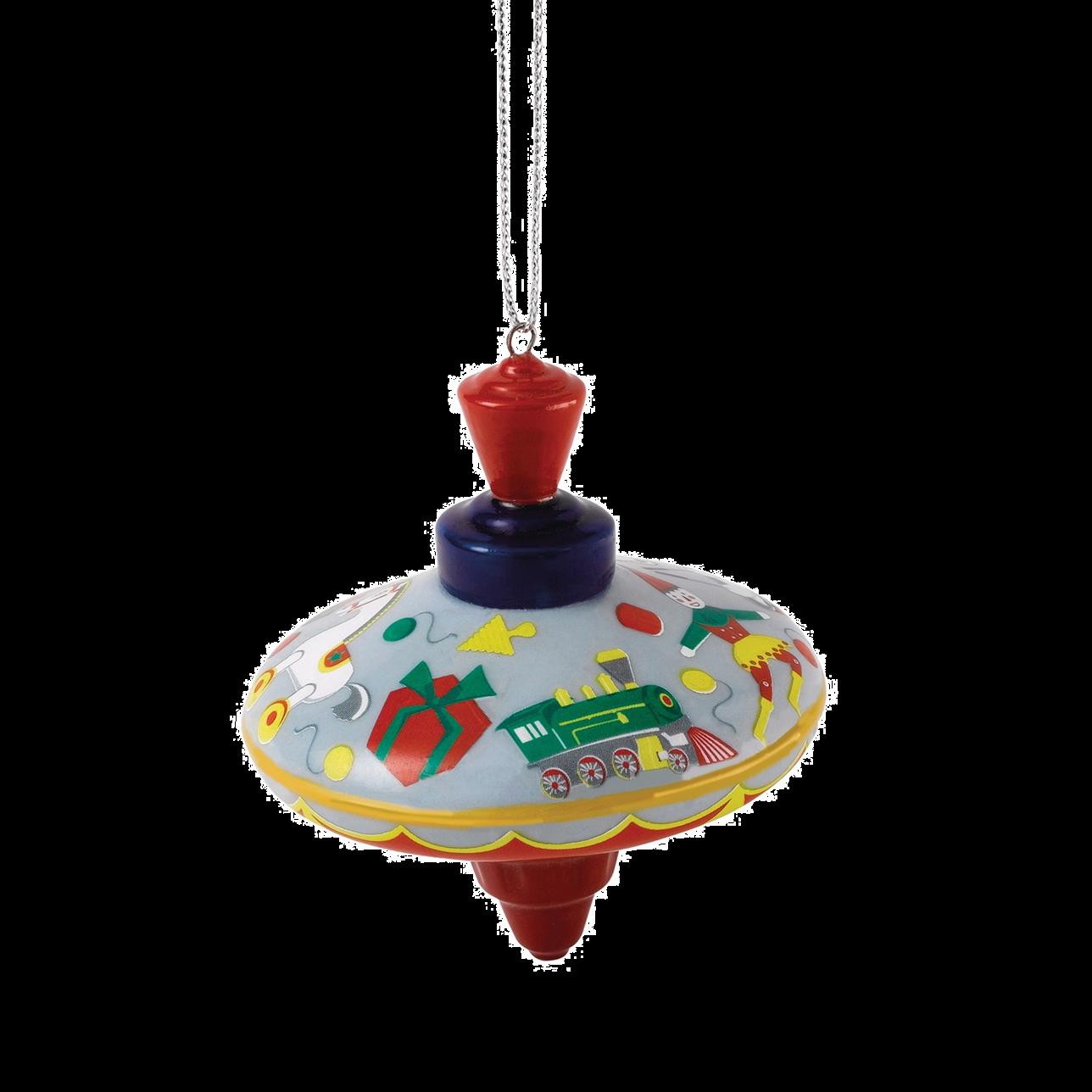 Nostalgic Ornament Spinning Top